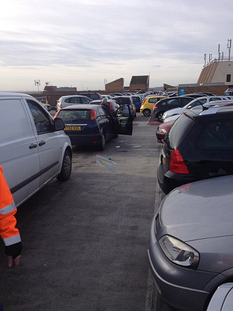 Bexleyheath traffic chaos as mum and child are trapped in car park for three hours