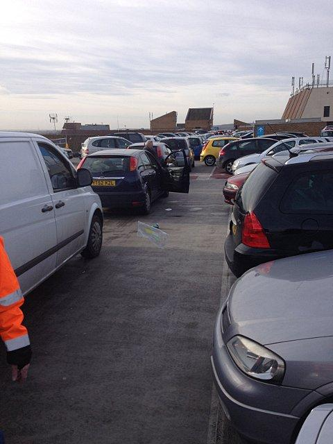 Nicola Hackett was stranded in the car park for three hours after shopping at The Mall, Bexleyheath