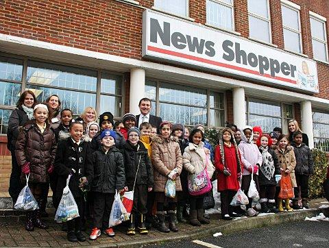Downham schoolchildren get the inside scoop on News Shopper