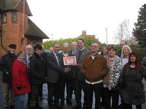 1,500 signatures on petition supporting NHS services in Bromley