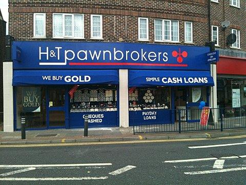 H & T Pawnbrokers in Welling.