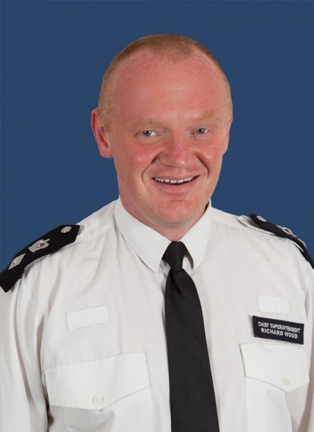 Greenwich's borough commander Detective Chief Superintendent Richard Wood will be based in Croydon until April 15