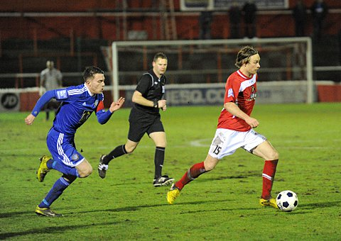 Neil Barrett goes on the attack against Macclesfield