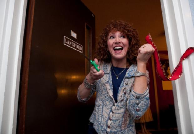 West End star Bonnie Langford gets her own dressing room in Bromley