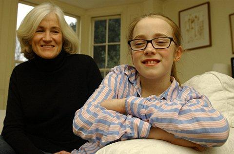 News Shopper: Helene Kydd and daughter Orla, now 11