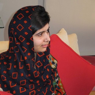 Malala Yousufzai underwent successful surgery at the weekend (Queen Elizabeth Hospital Birmingham/PA)