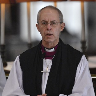 Welby stands firm over gay marriage