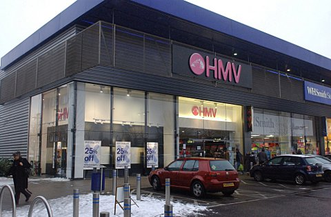 The HMV store in Orpington is set to close.