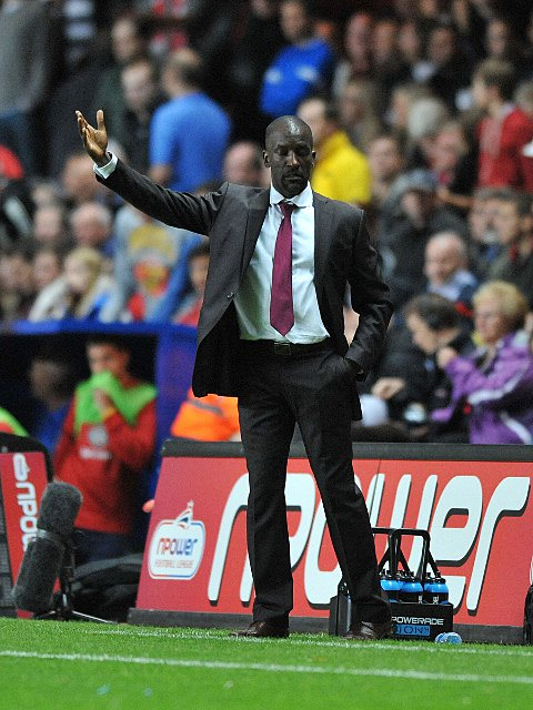 Charlton manager Chris Powell. PICTURE BY KEITH GILLARD.