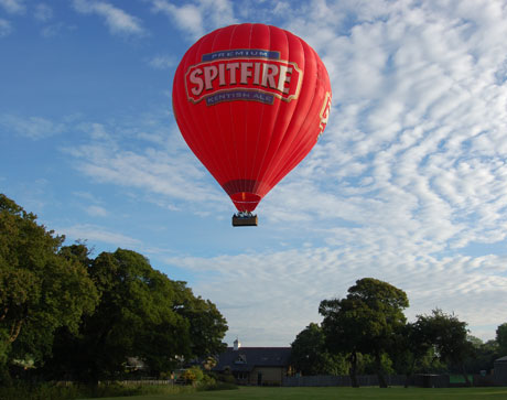 News Shopper: Hot air balloon ride