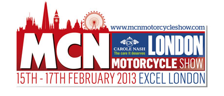 Win tickets to MCN London Motorcycle show