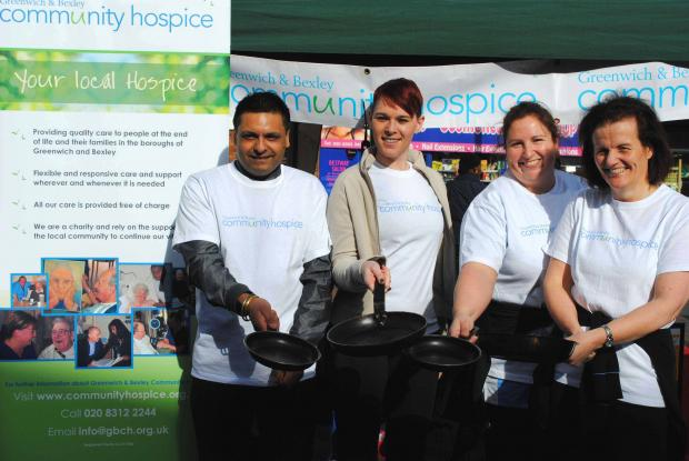 Get set for the 1st Annual Royal Greenwich Pancake Race