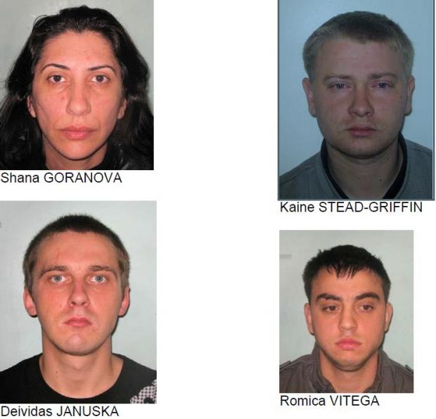 Images of eight people on the run for alleged crimes in Bexley