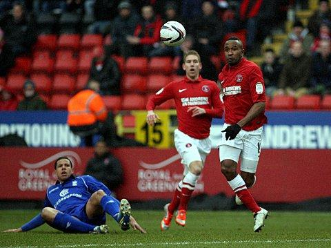 Ricardo Fuller chases the ball as Birmingham's Curtis Davies looks on. PICTURE BY EDMUND BOYDEN.
