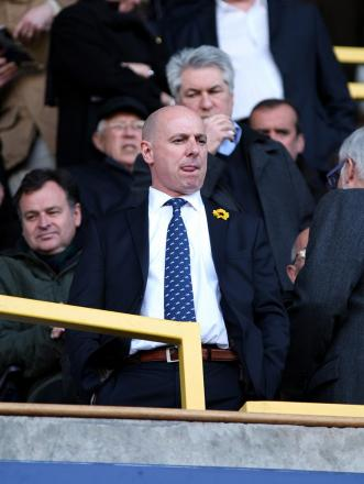 Lions chief executive Andy Ambler (above) has once again been forced to defend Millwall's reputation. PICTURE BY EDMUND BOYDEN.