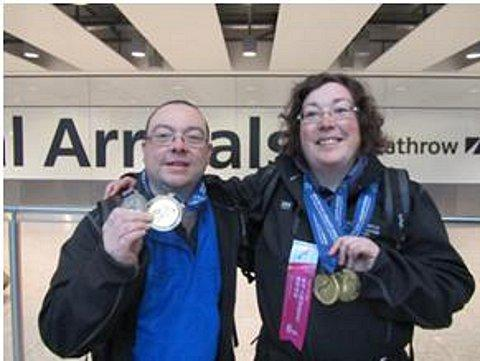 Bromley skiers win gold at 2013 Winter Games Special Olympics