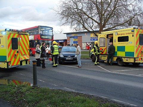 News Shopper: The second collision was near Topps Tiles