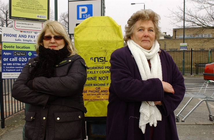 Anger over parking fines dished out in Bexleyheath - despite ticket machines not working