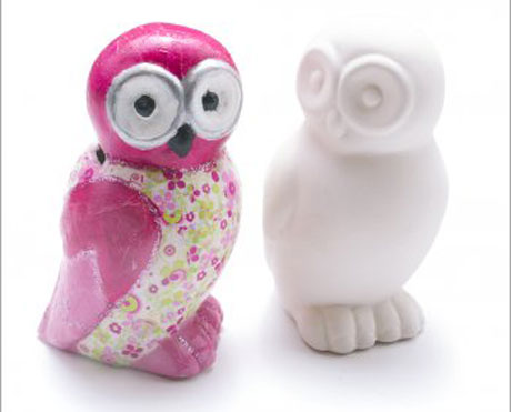 News Shopper: Owl money box