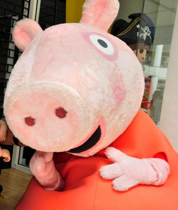 News Shopper: Cllr Jeremy Kite says Peppa Pig appearance has helped boost some town traders by 20 per cent