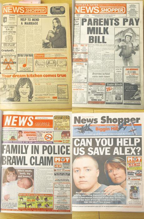 How News Shopper has changed through the years