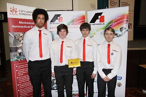 eam RedShift F1 - Dan Spiteri, Alex Headman, Ed Honey and Ben Jolly.