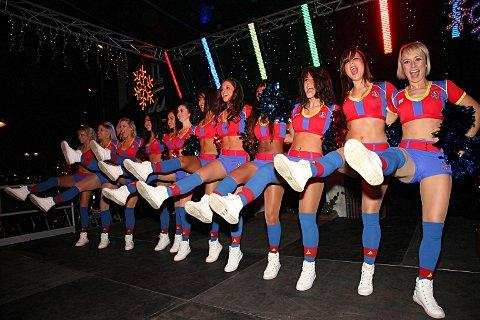 The Crystal Palace cheerleaders will also be at the opening.