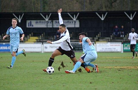 Pierre Joseph-Dubois (above) scored Bromley's equaliser