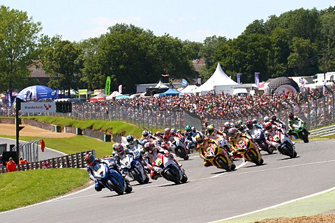 The MCE Insurance British Superbike Championship is expected to draw a huge crowd to north Kent