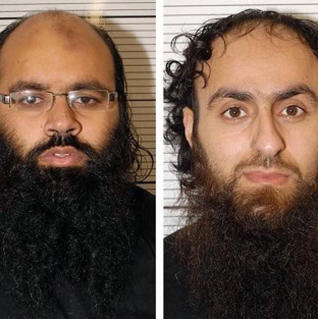 News Shopper: Irfan Naseer, left, and Irfan Khalid have been convicted of being 'central figures' in an extremist plot (West Midlands Police/PA)