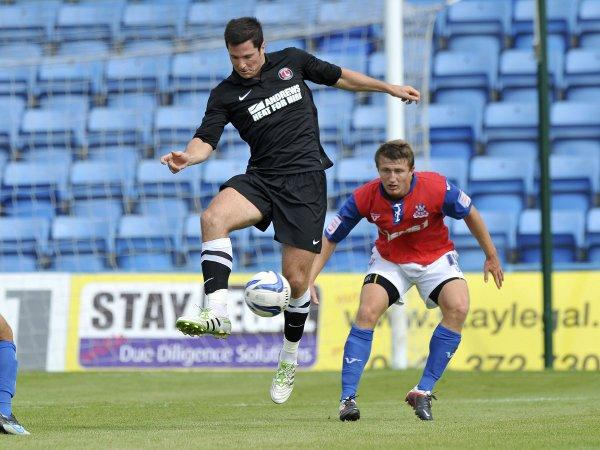 Former Fox Yann Kermorgant (above) scored again his old club. PICTURE BY KEITH GILLARD.