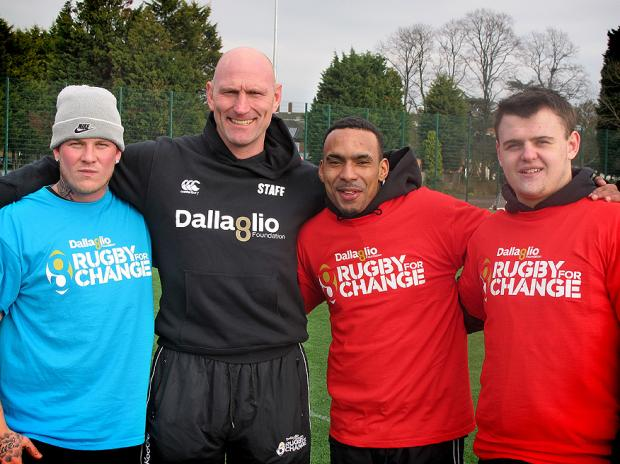 Lawrence Dallaglio visits Blackheath