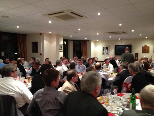 A Gentlemen's Dinner at Shooters Hill Golf Club has raised £6,000 for the Freddie Farmer Foundation