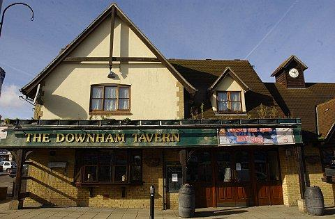 Downham Tavern pictured last year