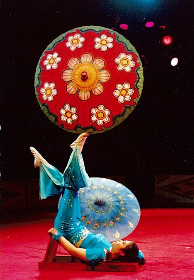 Chinese State Circus comes to The Orchard Theatre in Dartford