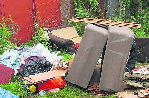 What would you do to stop flytippers from ruining our streets? LC59794