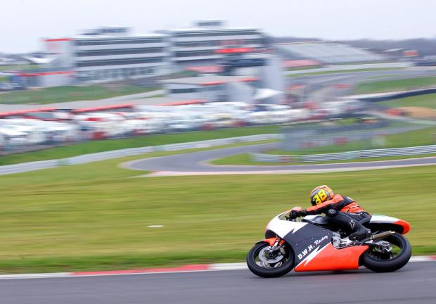 The NG Road Racing Club is one of three bike racing clubs to visit Brands Hatch in March