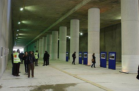 Woolwich Crossrail station holds tours