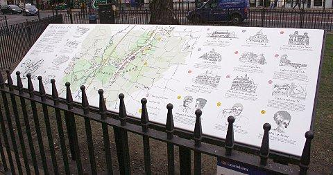 Rushey Green history celebrated with heritage board