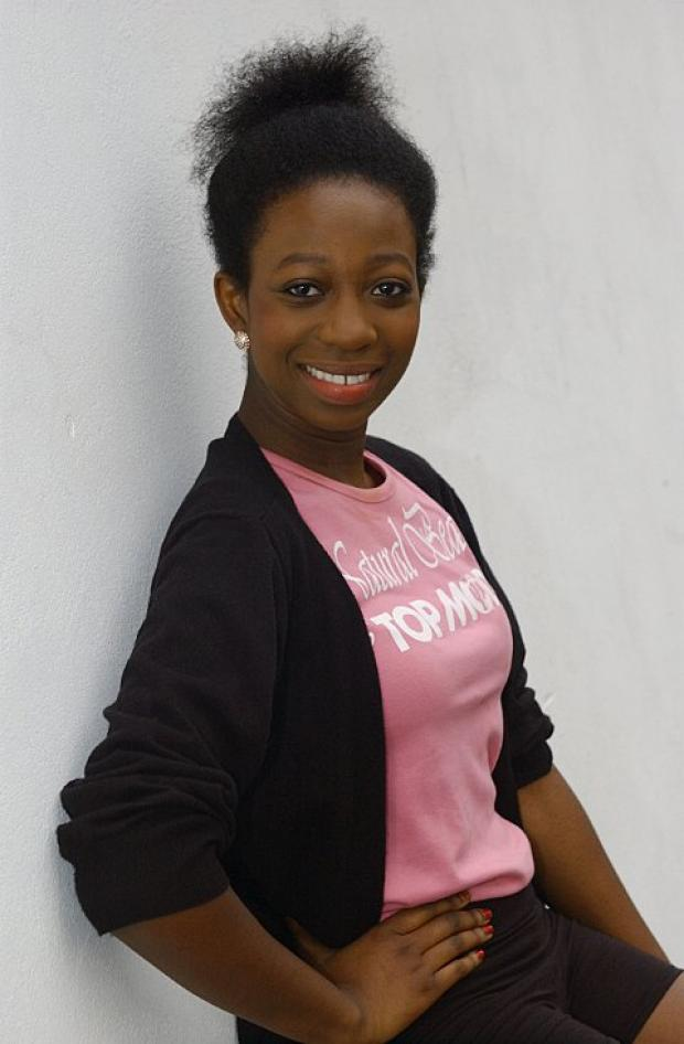 Abiola Efunshile is hoping for Top Model UK success. BR74501