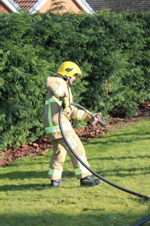 Golf club grass fire in Orpington causes damage to land equivalent to two football pitches