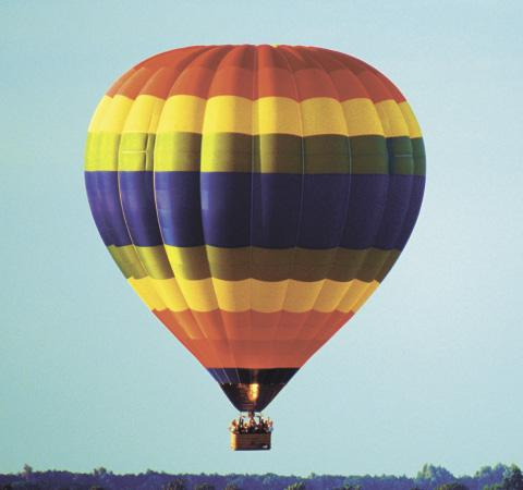 A rooster, duck and sheep were the first hot-air balloon passengers