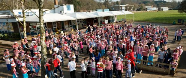 Where's Wally Day at Hextable Primary School