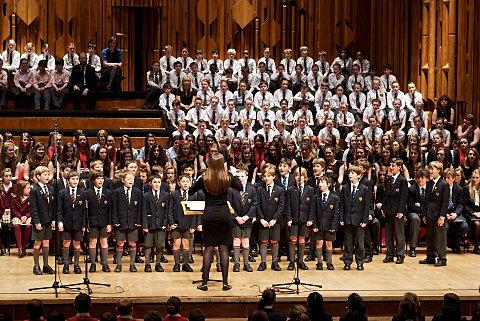 Eltham College choir runners-up in National Schools Choir Competition