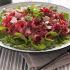 Recipe: Reginette pasta with beetroot & sour cream sauce
