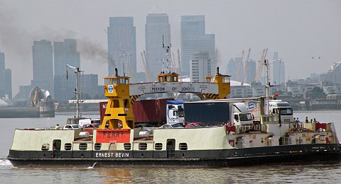 Apology after Woolwich Ferry service disrupted nine times in a month