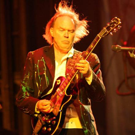Neil Young will headline