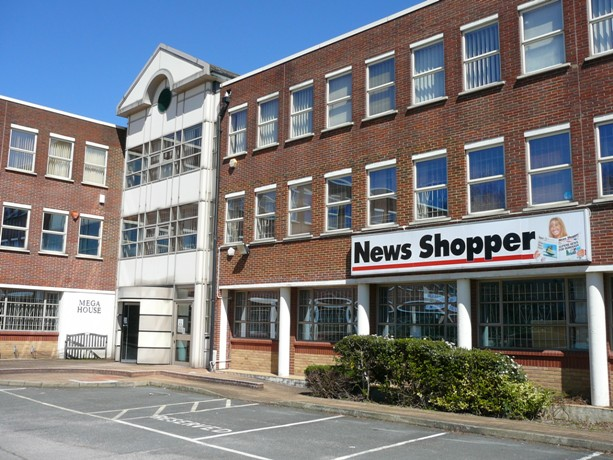 News Shopper: News Shopper towers in the sun today.