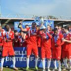Photos from Welling United's Conference South title celebrations at Park View Road.