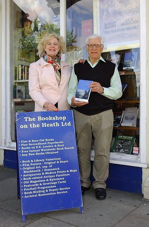 News Shopper: Graham Matthews with friend Alicia Sherliker